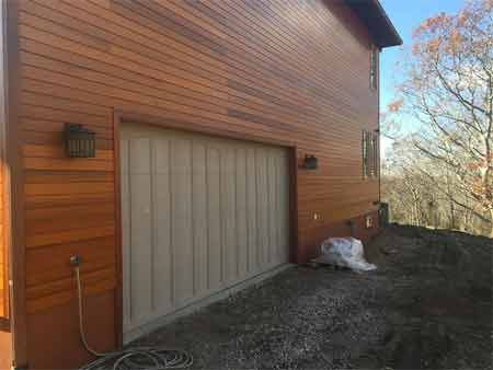 Step to align the garage door tracks made simple
