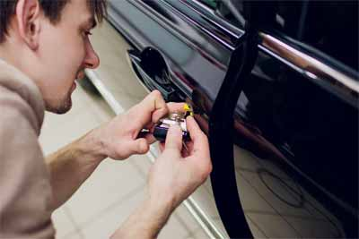 Can you Manual car lock convert into power lock