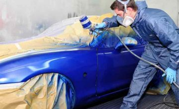 How to Blend Car Paint Spot Repair