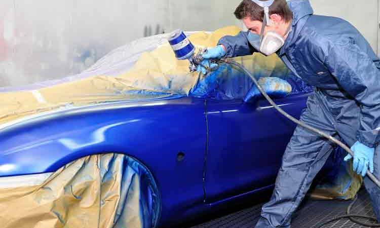 How to Blend Car Paint Spot Repair