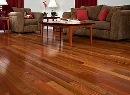 If you are thinking about changing your floors or installing new floors, choose Hardwood floors.